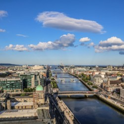 Dublin als Ausflug vom irischen Jugendfreizeitheim Lackan House