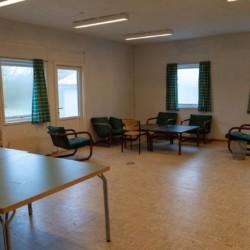 "Gruppenraum ""Klasseværelse"" im dänischen Gruppenhaus Trevaeldcentret"