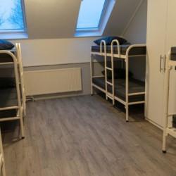Schlafraum im Kinderfreizeitheim de Putte in Holland