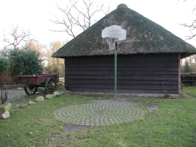 Basketballplatz beim Freizeitheim Anderhoes in den Niederlanden