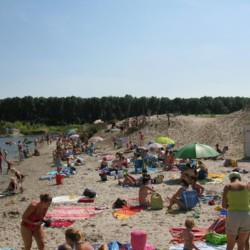 Das Strandbad ist ein beliebtes Ausflugsziel bei Besuchern des Gruppenhauses De Appelhof.