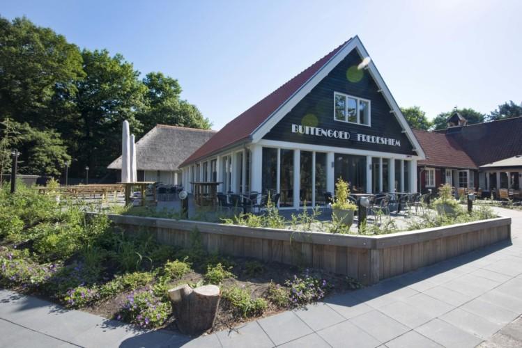 Das niederländische Gruppenhaus Fredeshiem.