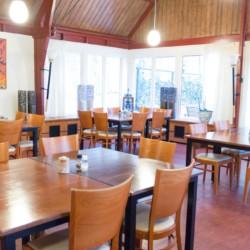 Der Speisesaal im Gruppenhaus Fredeshiem in den Niedelanden.