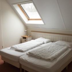 Die Zimmer im Freizeitheim Stins in den Niederlanden.