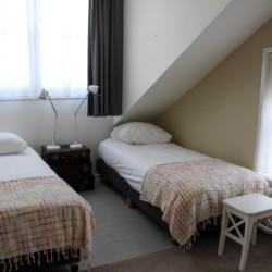 Doppelzimmer im Gruppenhotel KOM! in den Niederlanden.