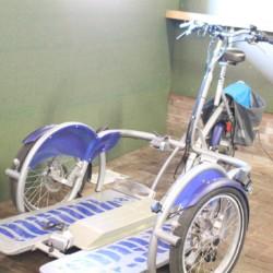 Das Rollifahrrad im niederländischen handicapgerechten Gruppenhaus ImminBrink.