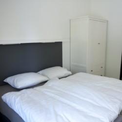 Ein Zimmer im Gruppenhaus Linde Plus in den Niederlanden.