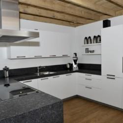 Die Küche des Gruppenheims Haus Linde in den Niederlanden.