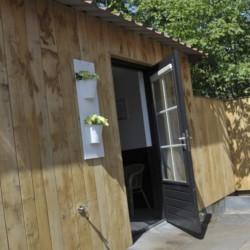 Sauna im barrierefreien Gruppenhaus Linde für Behinderte Menschen in den Niederlanden