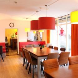 Speiseraum im niederländischen Gruppenhaus Markestee