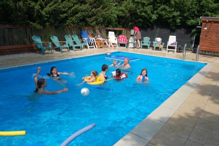 Pool im Gruppenhaus Markestee in den Niederlanden