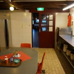 Der Küchenbereich in Nijsingh in den Niederlanden.