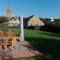 Das Gelände des Gruppenhotels Ameland in den Niederlanden.