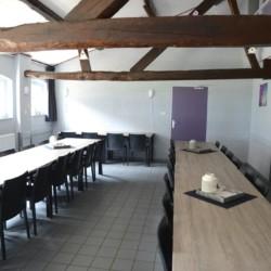 Speiseraum im niederländischen Gruppenhaus de Putte für Kinderfreizeiten