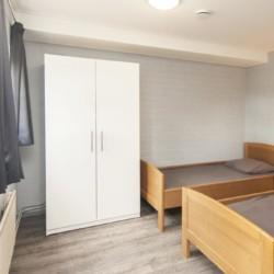 Zweibett-Zimmer im niederländischen Freizeitheim de Putte für integrative Freizeiten