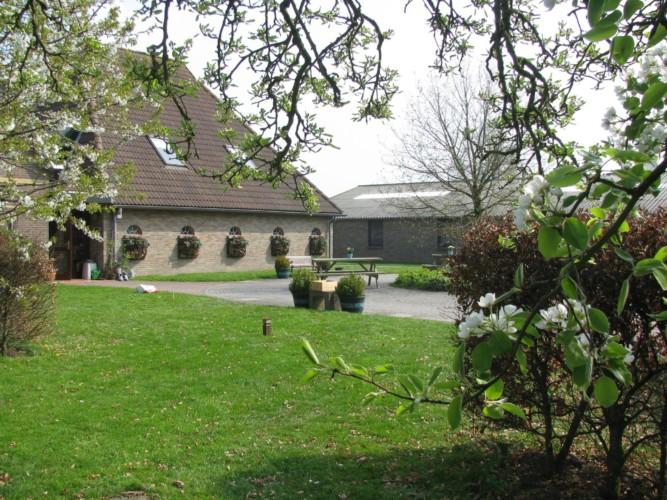 Das niederländische Freizeitheim Tjongerhus.