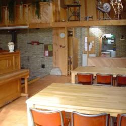 Der Gruppenraum des niederländsichen Freizeitheims Tjongerhus.