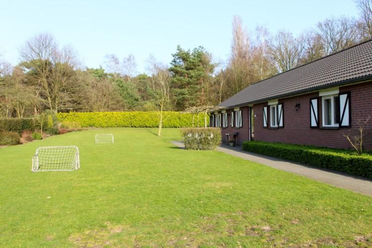 Die Umgebung des Ferienhauses Kleiner Schmetterling in den Niederlanden.
