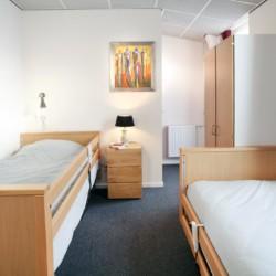 Ein Zimmer im Freizeitheim Schouw in den Niederlanden.