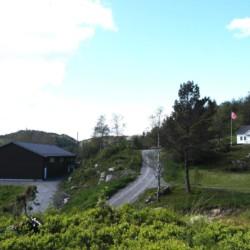 Die Übersicht über das des vom Gruppenhauses Fjelltun Leirsted in Norwegen.