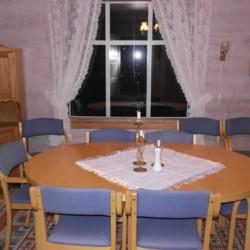 Ein Gruppenaum in Gruppenhaus Fjelltun Leirsted in Norwegen.