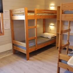 Eines der Zimmer im norwegischen Freizeitheim Fjelltun Leirsted.