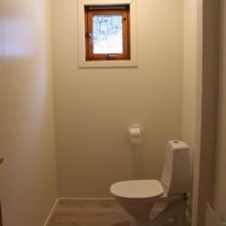 Ein Badezimmer im norwegischen Gruppenhaus Fjelltun Leistred.