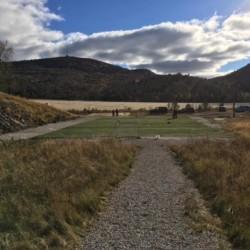 Der Sportplatz des Hauses Knaben Leirskole in Norwegen.