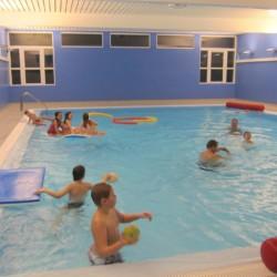 Das Schwimmbad des Gruppenheims Knaben Leirskole in Norwegen.