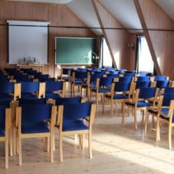 Kirchsaal im norwegischen Freizeitheim Solsetra Misjonssenter