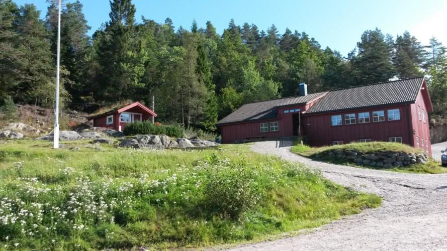Das Gruppenhaus Undeland in Norwegen.