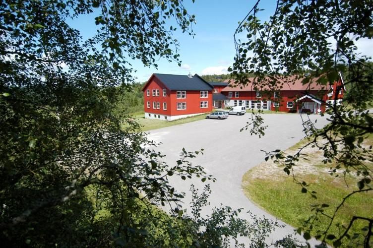 norwegisches Freizeitheim Gautestad Misjonssenter am See für Kinderfreizeiten