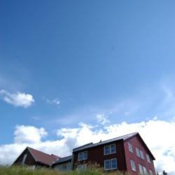 norwegisches Gruppenhaus Gautestad Misjonssenter am See für Jugendfreizeiten