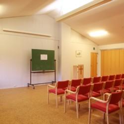 Der Gruppenraum im norwegischen Gruppenhaus Kvinatun.