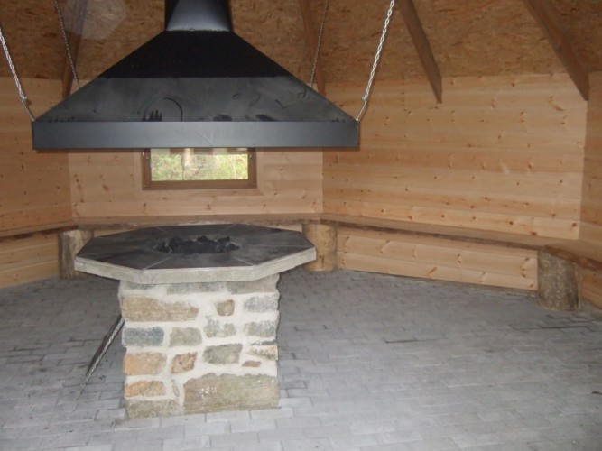 """Im Außenbereich des Gruppenhauses Kvinatun in Norwegen befindet sich zudem ein """"Lavo."""""""