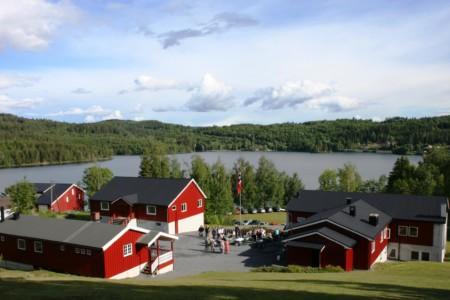 Außenansicht vom norwegischen Gruppenhaus Solsetra Misjonssenter