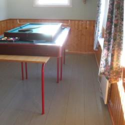 Billardtisch im norwegischen Gruppenhaus Solsetra Misjonssenter