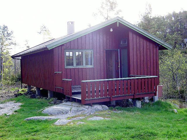 Eine Hütte des Freizeitheims Undeland in Norwegen.