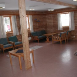 Der Gruppenraum im norwegischen Gruppenhaus Undeland.