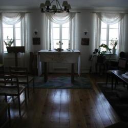 sesi 2020 Kapelle im Gruppenhaus in Schweden.