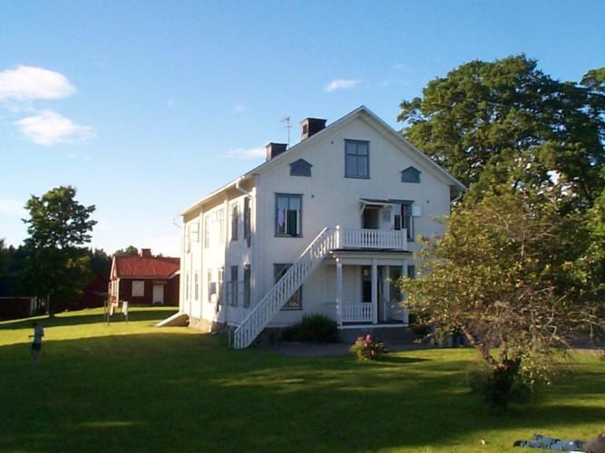 Das schwedische Freizeithaus für Gruppen Berga Gård.