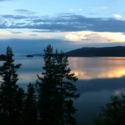 Das Freizeitheim am See bietet einen schönen Ausblick für Sonnenuntergänge.