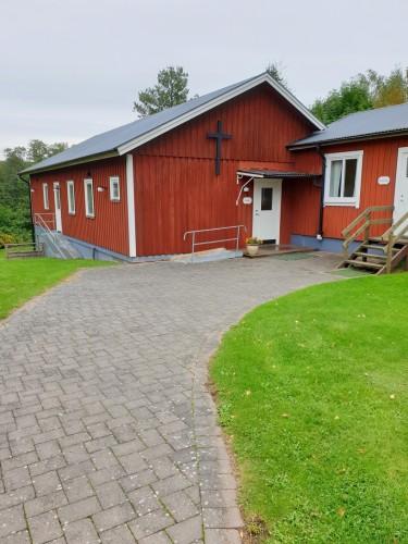 Kapelle am Freizeitheim Broddetorp für Jugendgruppen in Schweden
