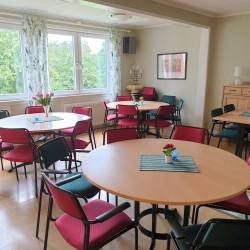 Speisesaal im Freizeitheim Broddetorp in Schweden für Kindergruppen und Jugendgruppen