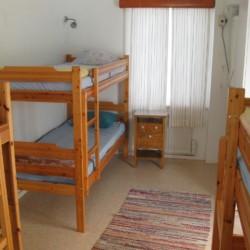 Die Zimmer im schwedischen Freizeitheim Broddetorp.
