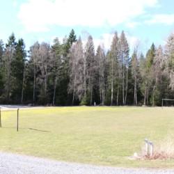Das Außengelände des Hauses Berghems in Schweden.