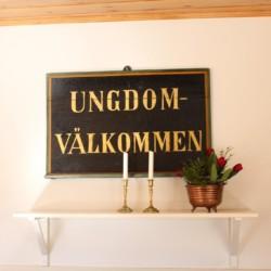 Das Freizeitheim Berghems in Schweden heißt alle Besucher willkommen.