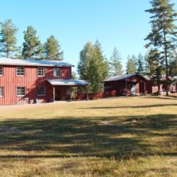 Das schwedische Gruppenhaus Ensro Lägergård.