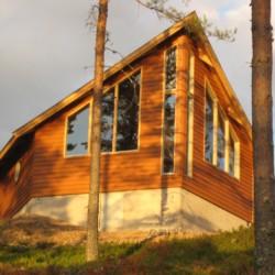 """Die """"Arche"""" gehört zum Gruppenhaus Ensro Lägergård in Schweden mit dazu."""