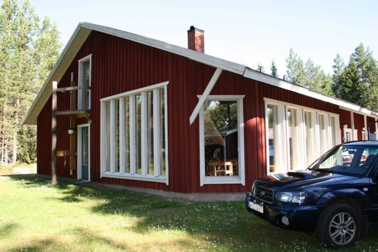 Das schwedische Gruppenhaus Gläntan.